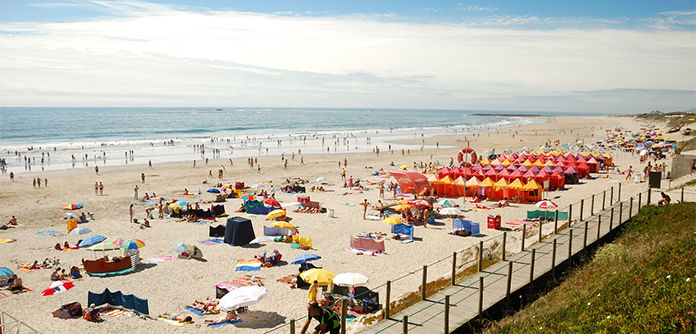 Quatro praias de Esposende com Bandeira Azul