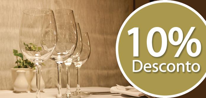 10 de Desconto no Restaurante Varandas do Cávado